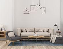 客厅这样装,秒变新家最舒适的地方