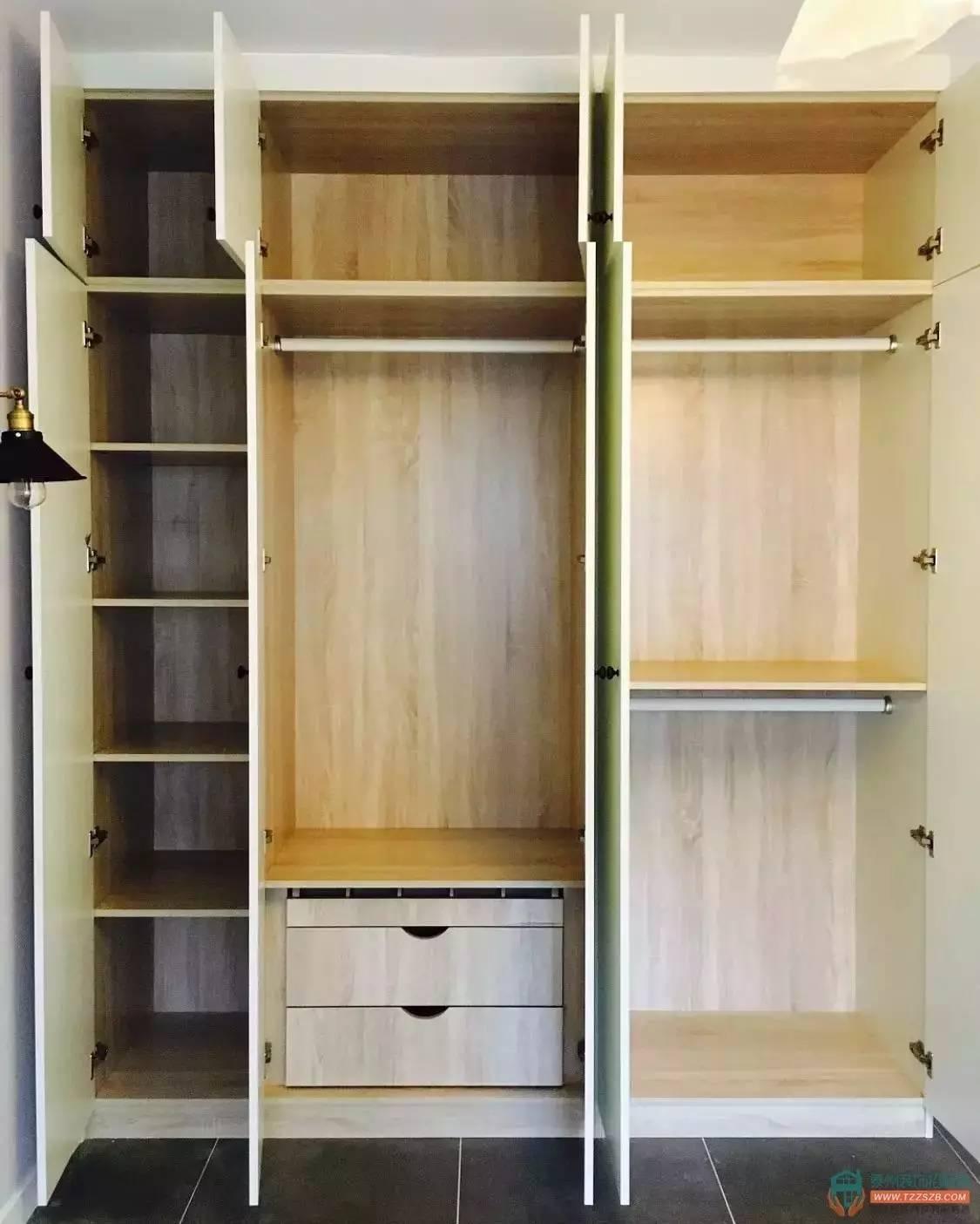 【设计】超全衣柜内部结构设计,让你家的衣柜更能装!
