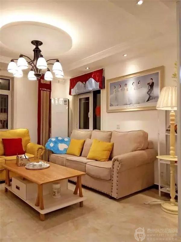 华润国际95㎡现代简约婚房,和女朋友温馨的小家!