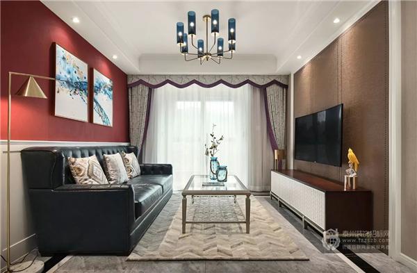 103㎡现代美式婚房,精致优雅、温馨舒适的家!