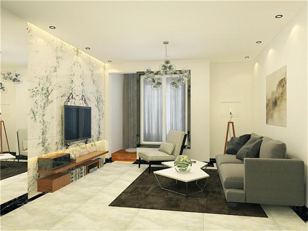 90后小夫妻花3万元装修的现代简约风格,99.26平米二居室太赞了!