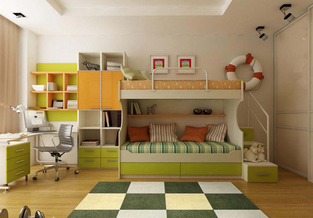 儿童房设计案例汇总,这样设计儿童房瞬间多出20㎡,再也不怕乱