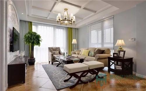 现代美式风   淡雅的色调搭配出仿古的质感