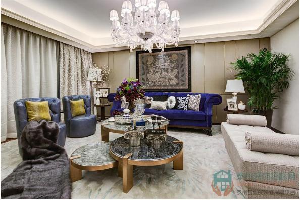 【现代简约】三房两厅案例,用奢华勾勒美好生活