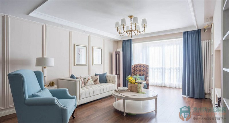 【案例】126平四居室如何装修?美式全包10万!
