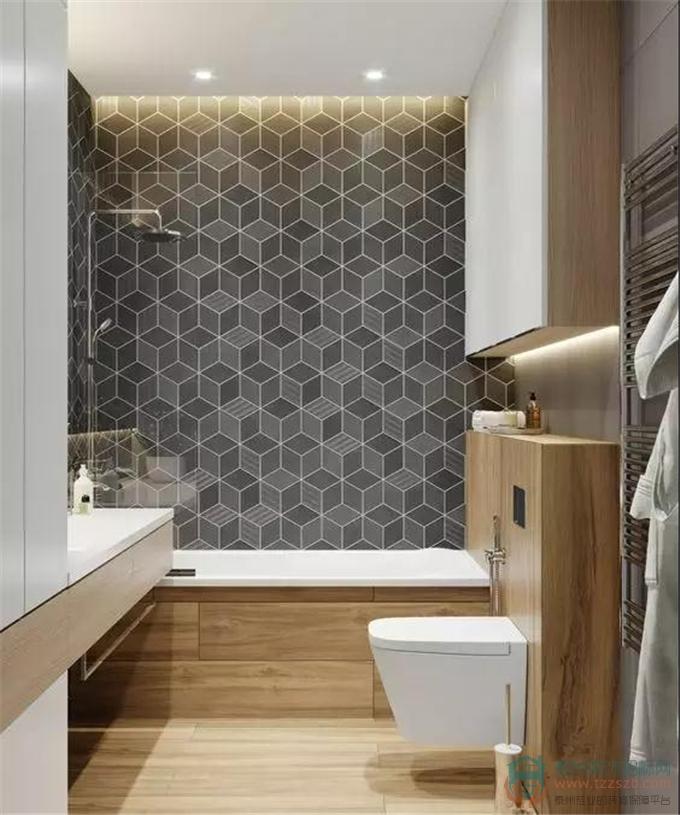 5㎡卫生间,如何实现泡澡+淋浴?太机智了...