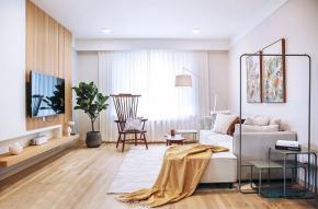 【案例】北欧二居室客厅卧室装修效果图