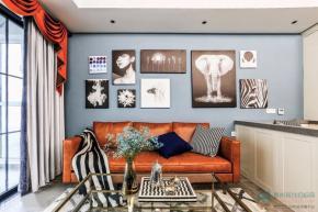 【案例】泰州美式三居室装修效果图