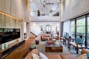 320㎡新中式别墅,古典和现代的碰撞